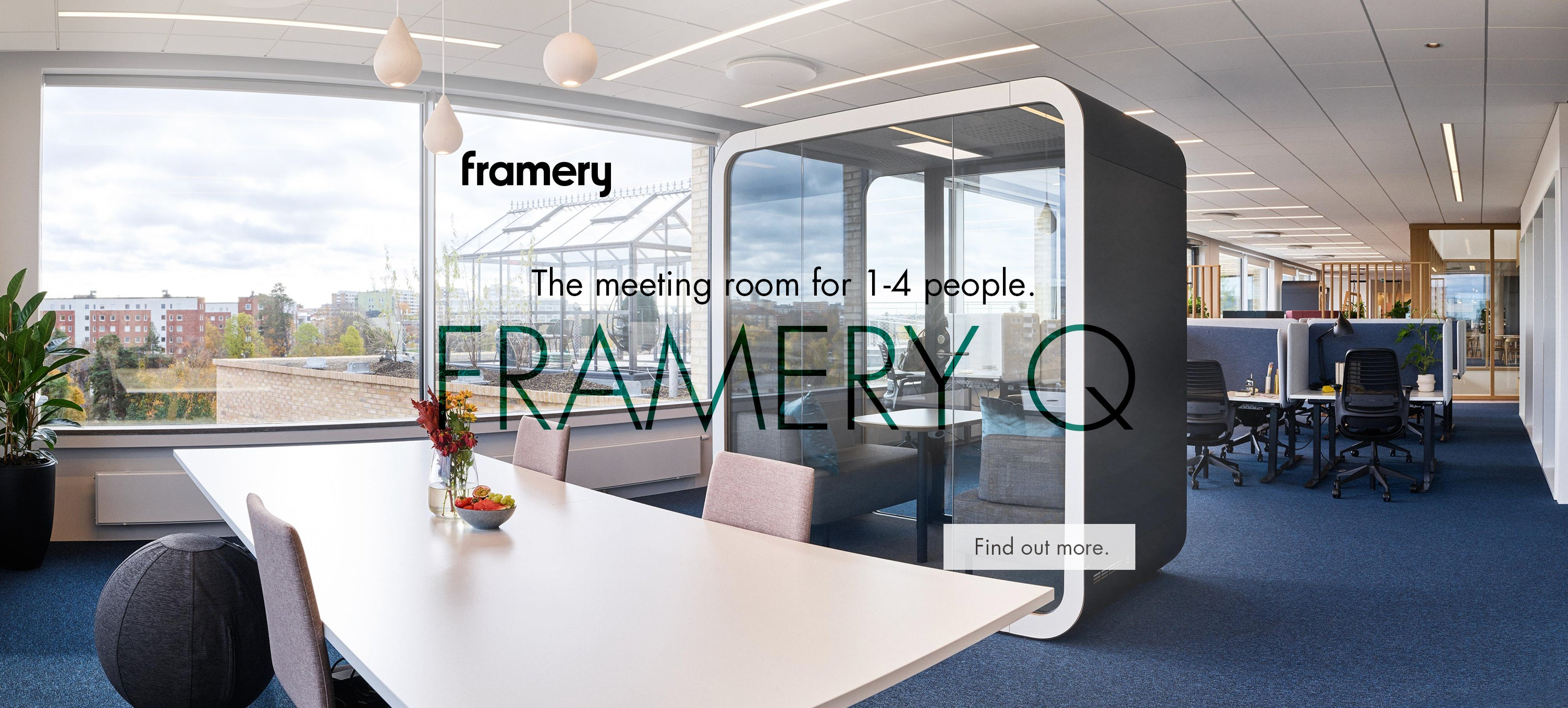 Framery Q acoustic meeting pod
