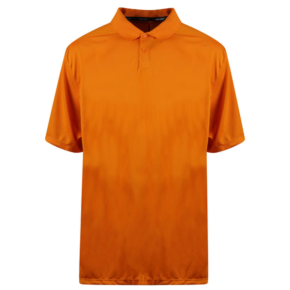 Nike Men's Short Sleeve Dri Fit Standard Fit Golf Polo Orange Size 3XL