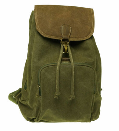 Cargo IT Stella Flap Over Backpack Olive Brown One Size