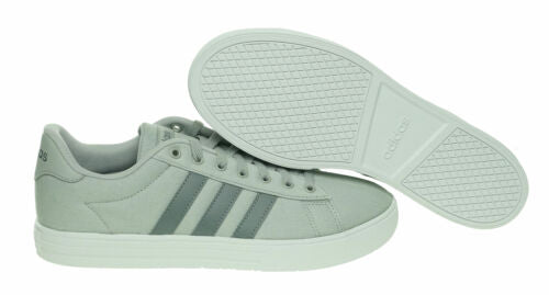 Adidas Men's Daily 2.0 Ankle High Canvas Skateboarding Shoes Gray