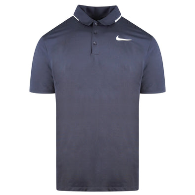 Nike Mens Golf Standard Fit short sleeve black dri-fit shirt L