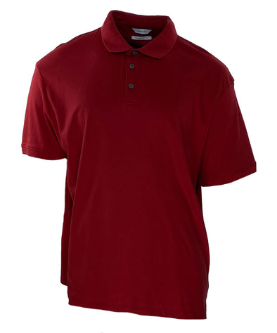 Calvin Klein Men's The Liquid Touch Polo Red Size XXL