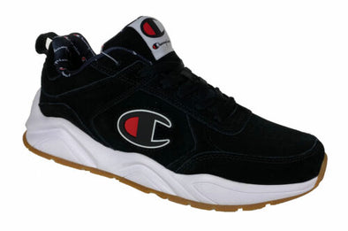 Champion Men's 93Eighteen Big C Casual Fashion Sneakers Black Size 10