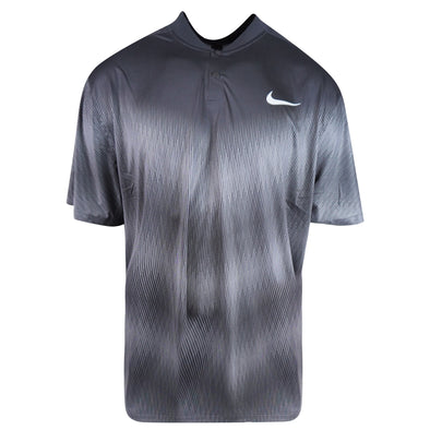 Nike Men's Short Sleeve Tiger Woods Golf Polo Black Size XXL
