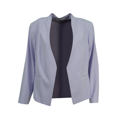 Calvin Klein Women's Plus Size Open Front Blazer Jacket Purple Size 22W