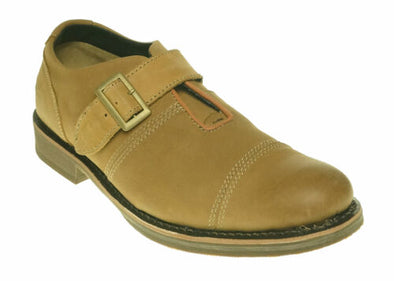 Caterpillar Men's Halsey Casual Ankle Oxford Buckle Shoes Sand Tan Size 12