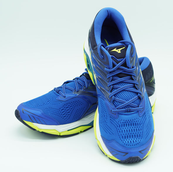 Mizuno Men's Wave Horizon 2 Running Athletic Shoes Blue Green Black