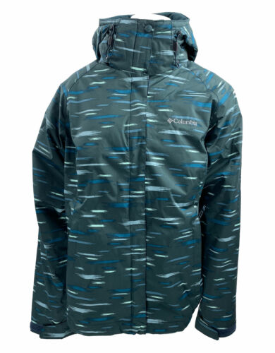 Columbia Women's Printed Outer West Interchange Insulated Puffer Coat Medium