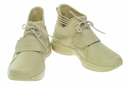 Puma Fenty Women's The Trainer Hi by Fenty Shoes Sesame Beige Size 5.5