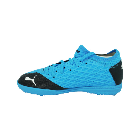 Puma Boy's Future 5.4 Indoor Soccer Athletic Shoes Blue