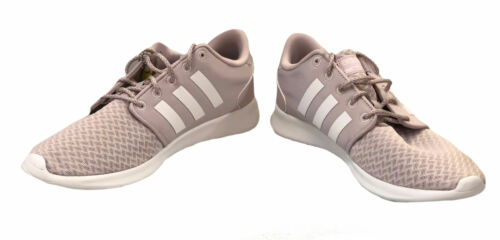 Adidas Women's QT Racer Cloudfoam Running Shoes Light Purple Size 10