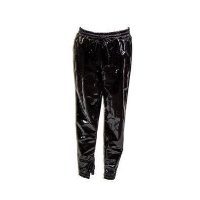 Michael Kors Women's Glossy Jogger Pants Black