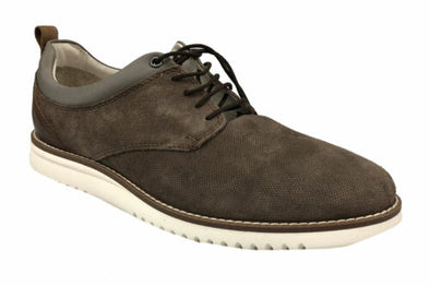 Alfani Men's Gregor Lace Up Casual Suede Shoes Light Tan Size 9