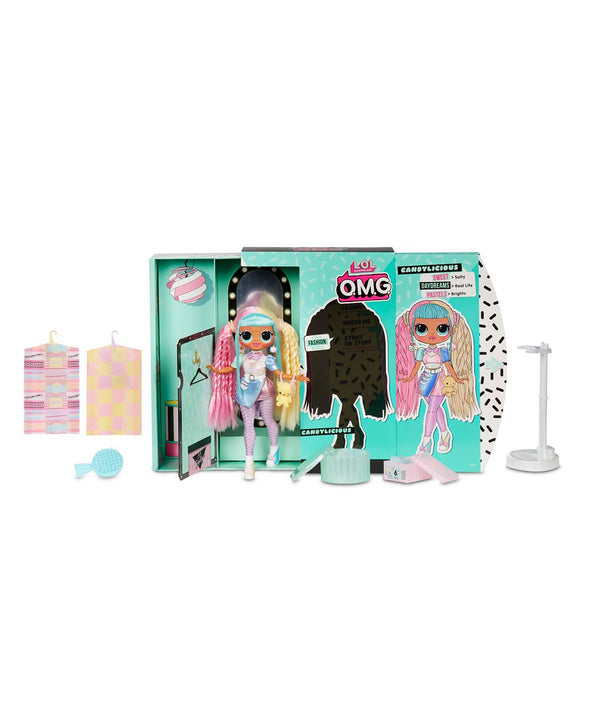 L.O.L. Surprise! O.M.G. Candylicious Fashion Doll with 20 Surprises Series 2