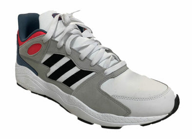 Adidas Men's Cross Training Cloudfoam Athletic Shoes White Blue Size 13