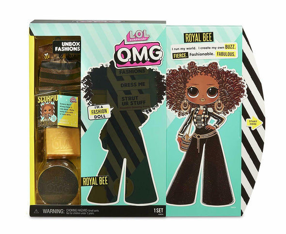L.O.L. Surprise! O.M.G Top Secret - Queen Bee Winter Disco Doll