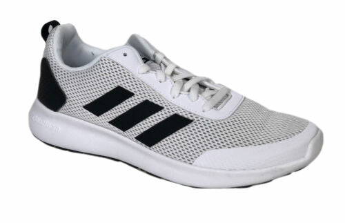 Adidas Men's Argecy Running Athletic Shoes White Black Size 9