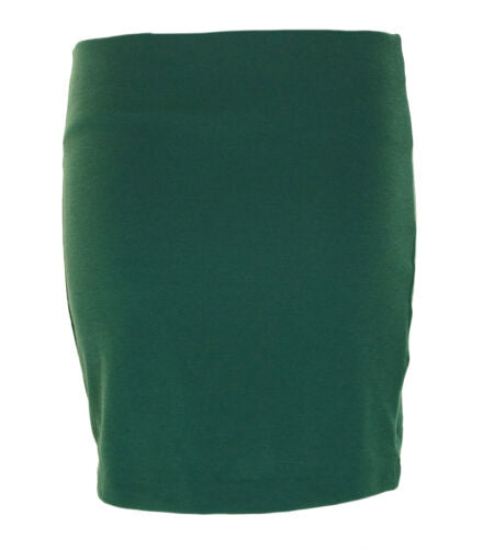 BCBGeneration Women's Elastic Waist Stretch Mini Skirt Green $48