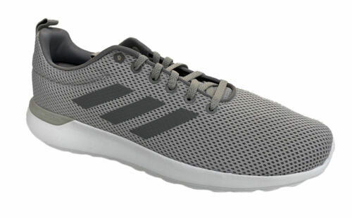 Adidas Men's Lite Racer CLN Running Athletic Shoes Gray