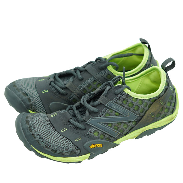 New Balance Women's Minimus 10v1 Trail Walking Shoes Grey Green Size 8