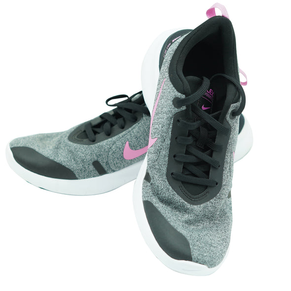 Nike Women's Flex Experience 8 Running Athletic Shoes Black Pink Size 7.5