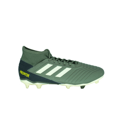 Adidas Men's Predator 19.3 FG Football Cleats Olive Green Size 9.5