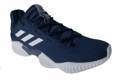 Adidas Men's Pro Bounce 2018 Low Basketball Shoes Navy Blue Size 7.5