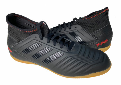 Adidas Youth Predator 19.3 Indoor Soccer Shoes Black Size 6