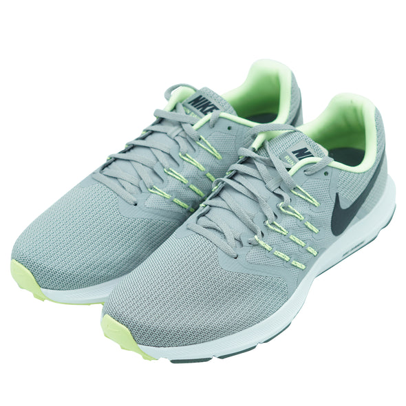 Nike Men's Run Swift Athletic Running Shoes Gray Green Size 11.5