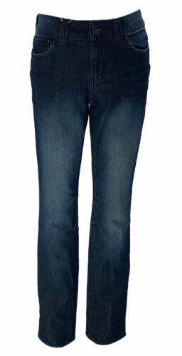 DKNY Jeans Women's Stretch Slim Fit Bootcut Jeans Dark Blue Size 4