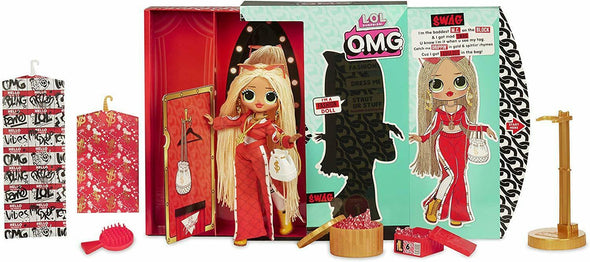 L.O.L. Surprise! O.M.G. Top Secret Swag Fashion Doll with 20 Surprises