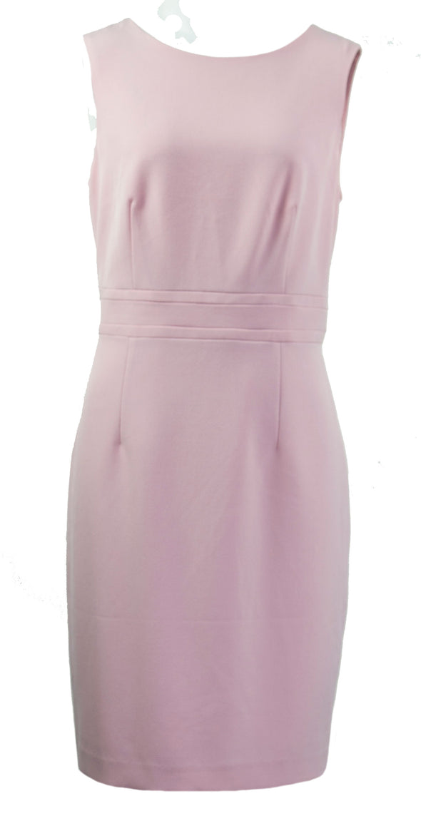 Kasper Women's Petite Sleeveless Sheath Dress Tutu Pink Size 6P