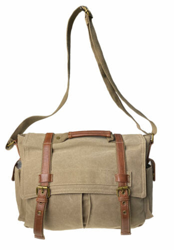 Cargo IT Lowry Large Messenger Weekender Bag Khaki