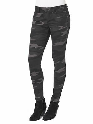 Democracy Stretch Camouflage Ab Solution Side Zip Jegging Jeans