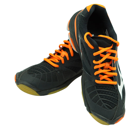 Mizuno Women's Wave Lightning Z3 Volleyball Athletic Shoes Black Orange Size 7.5