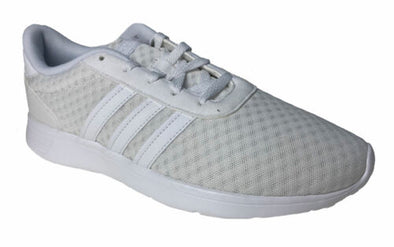 Adidas Unisex Lite Racer Running Shoes White Size 8