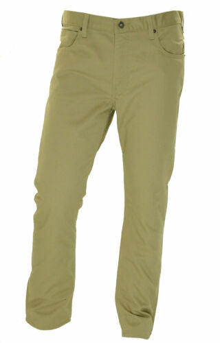 Dickies Men's Slim Tapered Fit Flex Fabric Crossover Pants Sand Tan