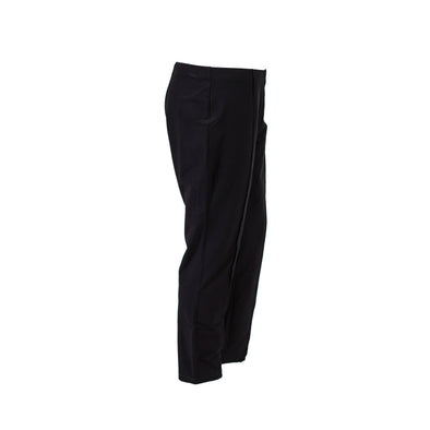 Eileen Fisher Women's Crepe Pull On Seamed Skinny Ankle Pants Black Size Large