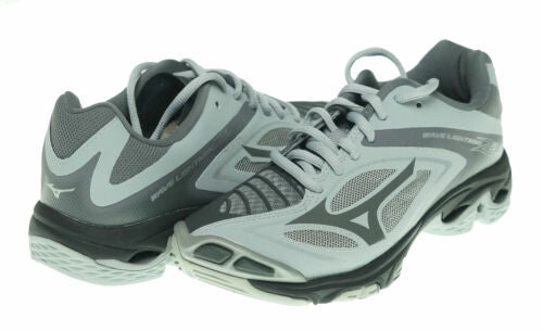 Mizuno Women's Wave Lightning Z3 Volleyball Athletic Shoes Black Gray