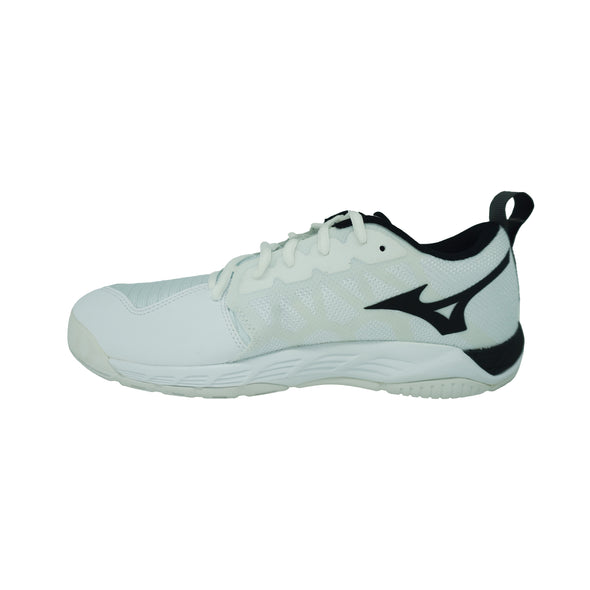 Mizuno Women's Wave Supersonic 2 Volleyball Shoes White Black Size 11