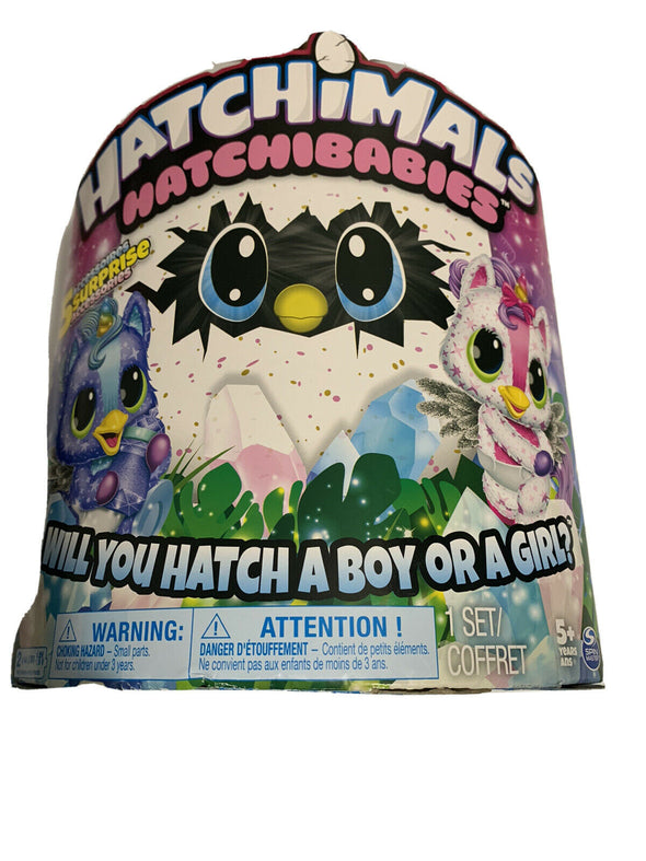 Hatchimals HatchiBabies Unikeets Hatching Egg With Interactive Pet Baby