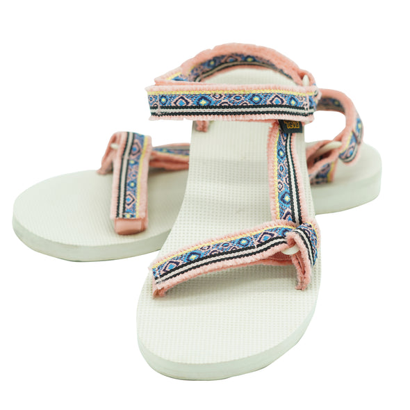 Teva Women's Original Universal Strappy Sandals Pink Size 9
