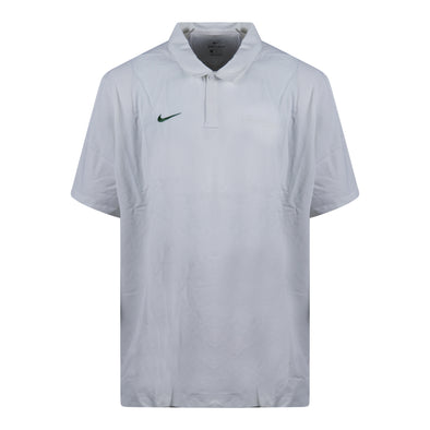 Nike Men's Dri Fit Short Sleeve Activewear Polo White Size 3XL