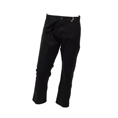 Dockers Mens The Broken In ALpha Khaki Slim Tapered Chino Pants Black Size 36x29