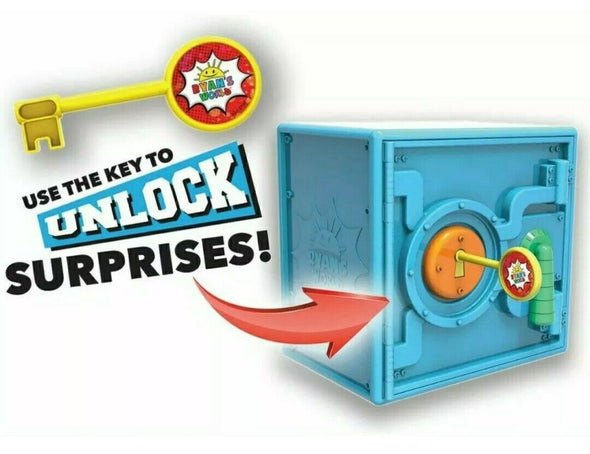 Ryan's World Super Surprise Safe 30+ Surprises to Unlock 53 Pieces