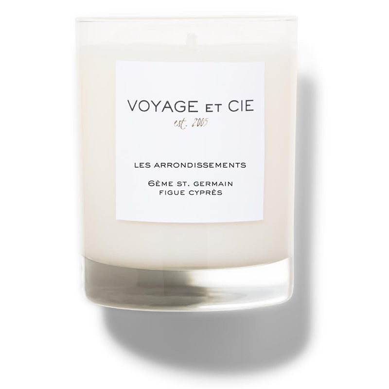 6Ème St. Germain Figue Cyprès Candle