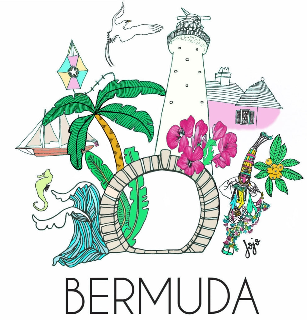 Bermuda Icons Card