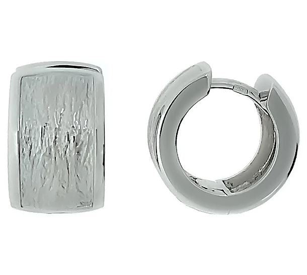 Breuning - Earrings SS /RH Hoop - The French Door Jewellers