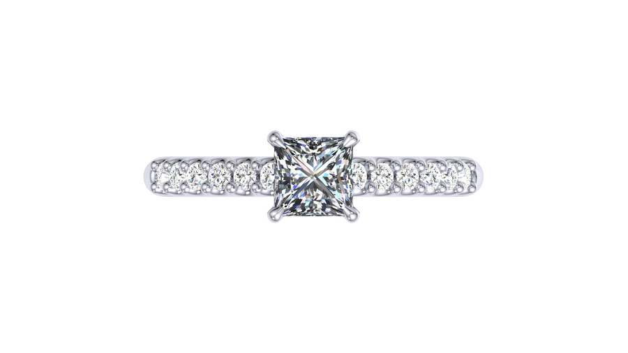 Custom design your engagement ring & our team will send you a quote