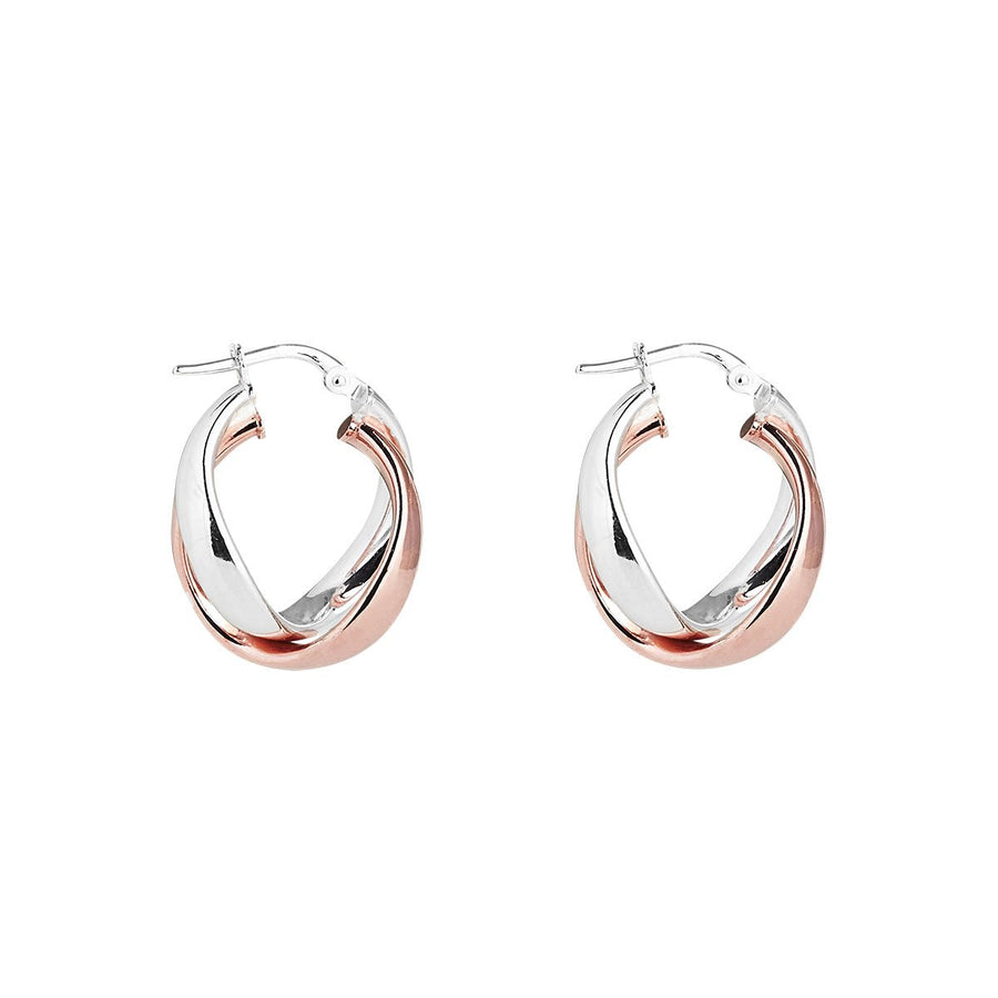Najo The Mediterranean (Rose/Sil) Earring - The French Door Jewellers
